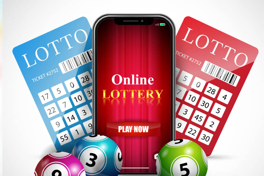 Can lottery tickets be purchased online?