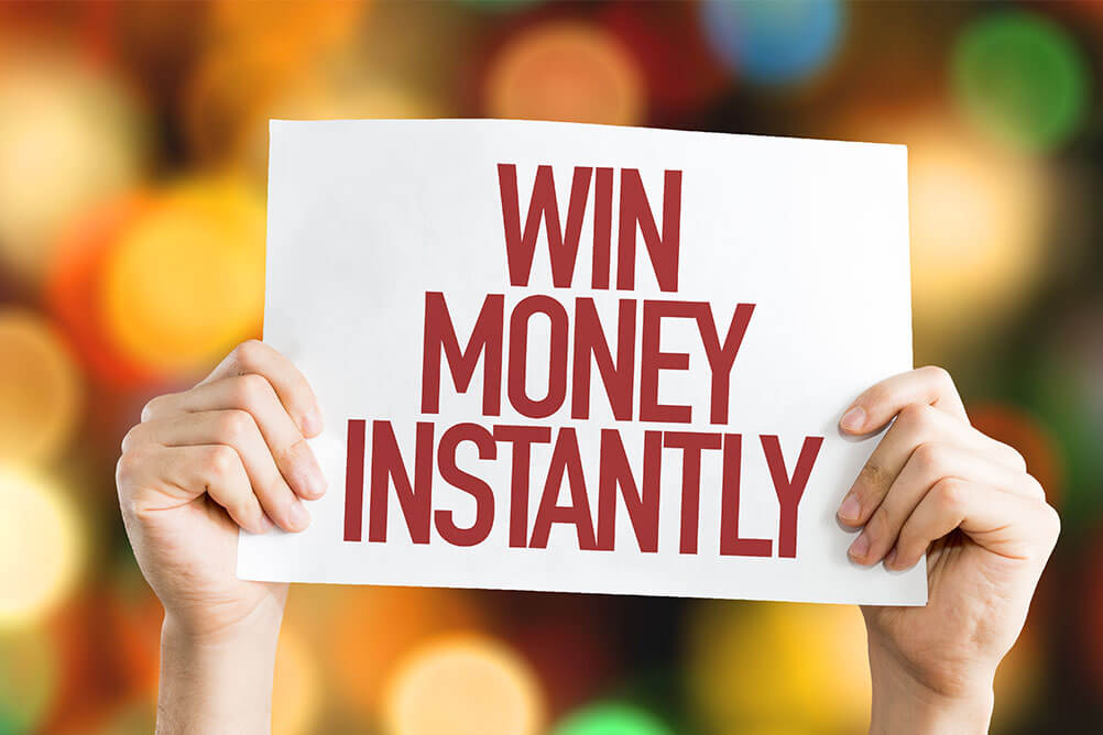 Make Instant Money with Online Instant Win Games